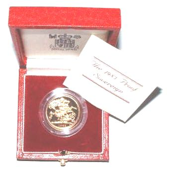 Gold Proof Sovereigns